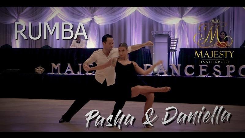 Pasha Pashkov and Daniella Karagach I Rumba I Majesty 2019