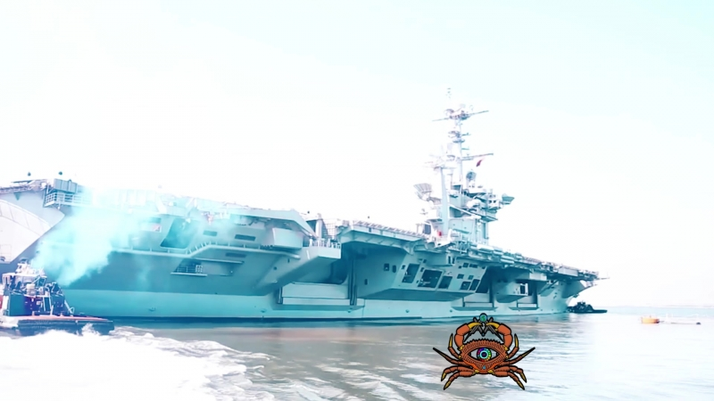 Авианосная группа США в Средиземном море. METANEWS