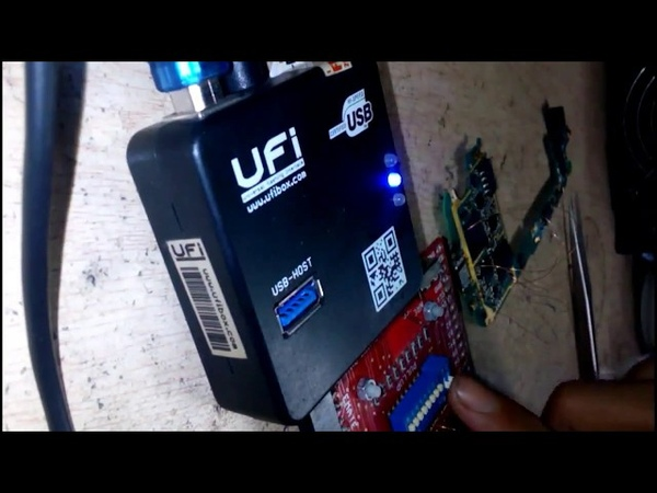 UFI Box сброс EMMC через тестпоинт на Samsung Galaxy S3 i9300