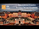 Bruchsal Castle - Walking Tour, Baden-Württemberg, Germany 4k UHD