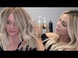 In Salon Base Bump &amp Blonde Balayage Tutorial