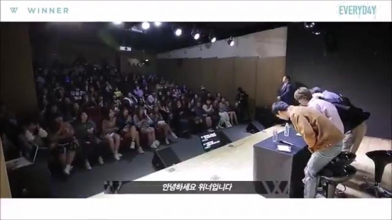 [OFFICIAL] WINNER x GENIE MUSIC, MV BEHIND THE SCENES EVENT at Gangnam 640 Art Hall. PART.