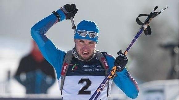 Александр Логинов выиграл преследование на финальном этапе Кубка IBU