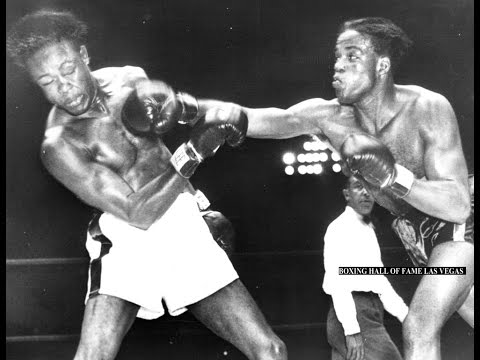 Kid Gavilan Stops Gil Turner - A BOXING WAR !
