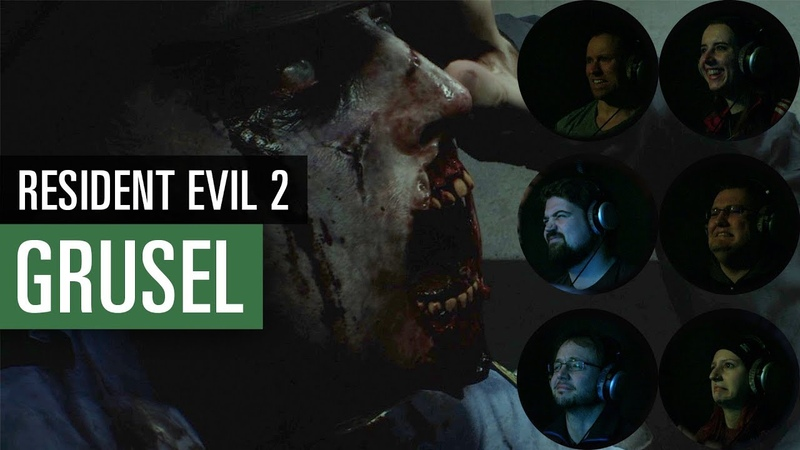Resident Evil 2 Remake | Redakteure gruseln sich im Lets Play
