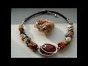 Чокер из старых бус кольца из запонок и другие переделки Камни из коллекции