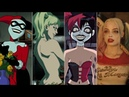 Evolution of Harley Quinn in movies and cartoons