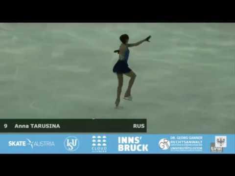 Anna TARUSINA RUS SP Alpen Trophy 2018
