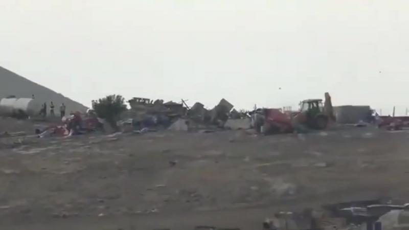 Les soldats juifs ont démoli plusieurs installations palestiniennes dans les vallées du nord du pays ce matin