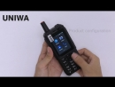 UNIWA F40 2,4-дюймовый IPS-экран 4G LTE Zello PTT Walkie Talkie Мобильный телефон