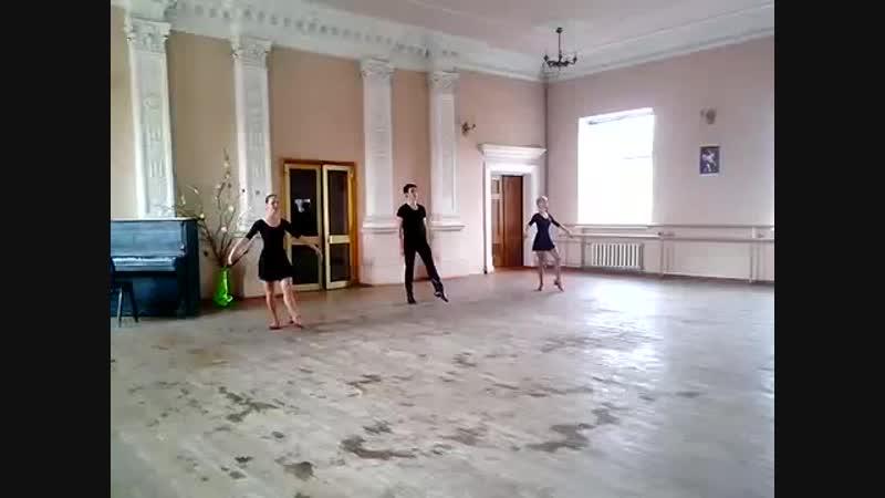 Урок народного танца Русский танец