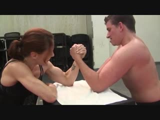 2 vs 1 strong girl arm wrestling Strength Athlete