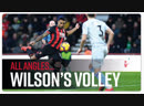 EVERY ANGLE - Callum Wilsons spectacular volley against West Ham