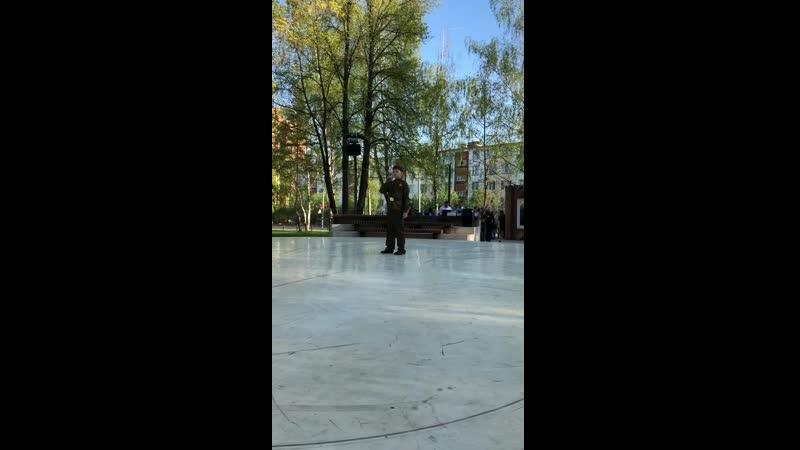 Спиридонов Артем. Концерт Музыкальных школ, посвященный Дню Победы (09.05.2019)