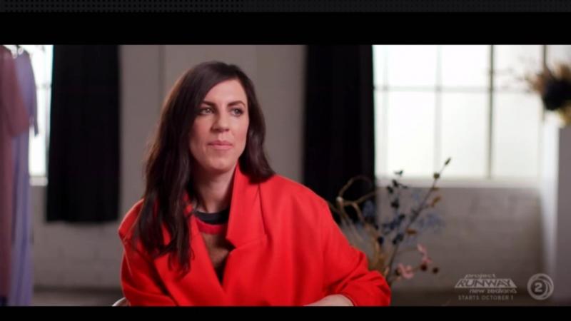 Sally-Ann Mullin a judge of Project Runway New Zealand 2018
