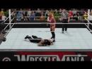 Roman Reigns Vs Charlotte WWE 2K17 PC Modding
