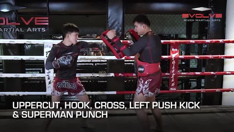Как правильно бить удары в тайском боксе
