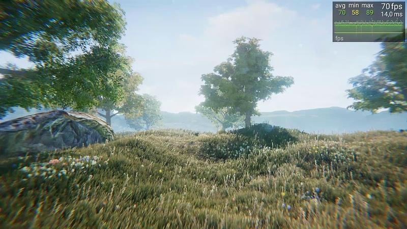 Рендеринг травы в Unity