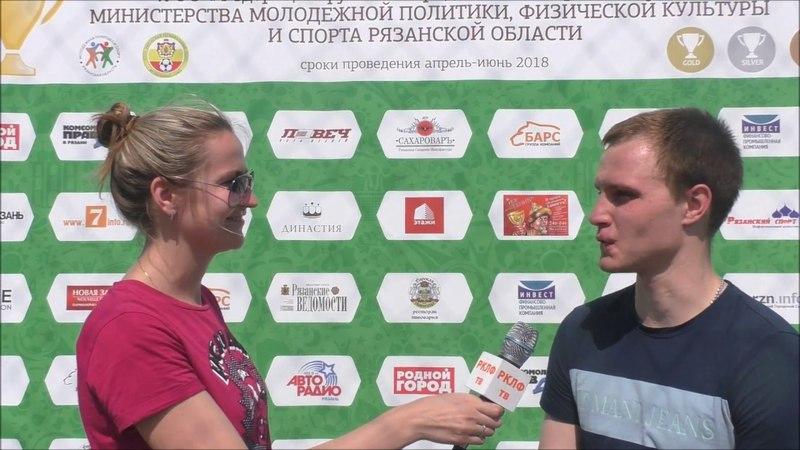 Дмитрий Елисеев команда Бизнесконтакт 5 тур 1 05 2018