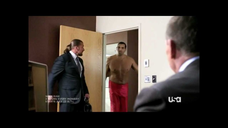 WWE Raw 3 Hours Funny Promo USA Network HD
