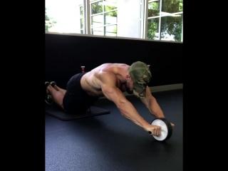 Учитесь тренироваться с роликом