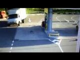 Перед крутым поворотом на спуске отказали тормоза. (остановился) Краснодарский край. пос. Магри (VHS Video)