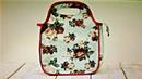 Bolsa sacola térmica em tecido e mat isolante com moldes Isadora Com Maria Adna e Lili Giusti