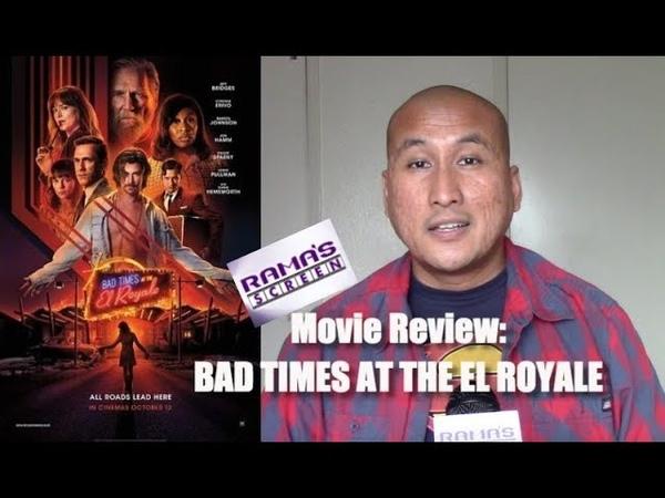 My Review of 'BAD TIMES AT THE EL ROYALE' | Tarantino Would Be Flattered