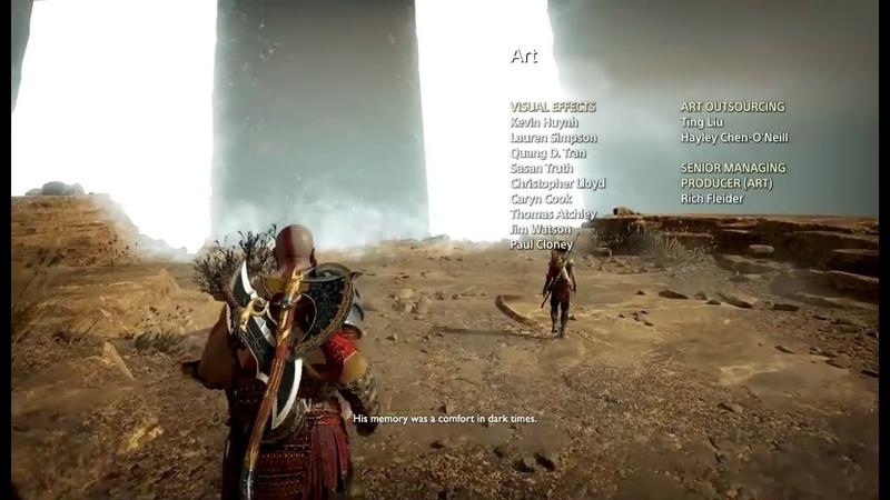 God of War PS4 - Kratos tells Atreus the story about his name