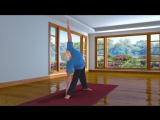 Yoga with Modi Trikonasana Hindi