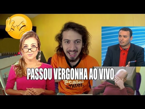 Cartolouco foi fazer pergunta idiota a Rizek e passa vergonha ao vivo no Sportv