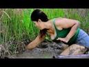 Wow Bela Garota Pescando Em Battambang Khmer Net Fishing Como Pegar Peixe Parte 132