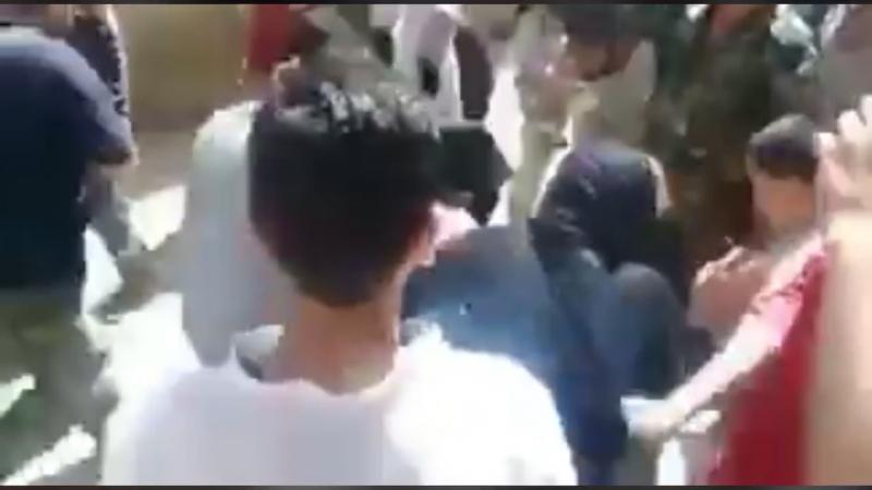 Пойманный боевик ИГ в Ярмуке