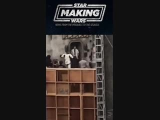 Мандалорец - Видео со съёмок