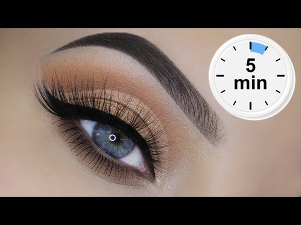 EASY 5 Minute Cut Crease Tutorial Only Drugstore Products