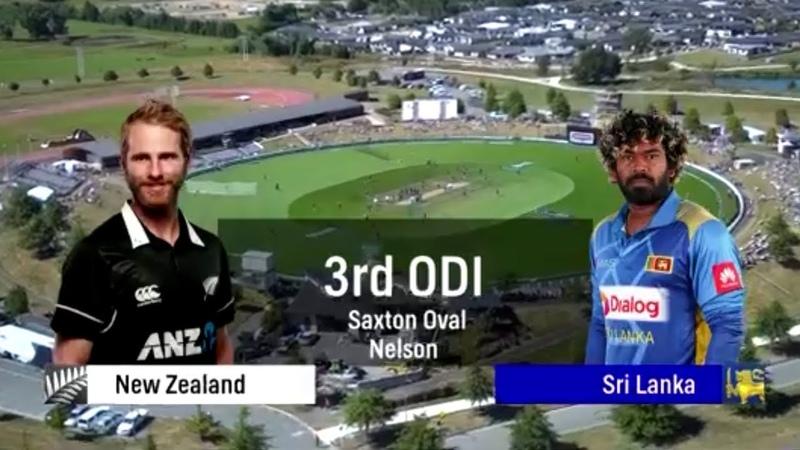 New Zealand vs Sri Lanka 3rd ODI Full Highlights | NZ vs SL 3rd ODI Highlights 08012019