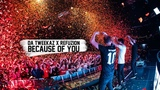Da Tweekaz &amp Refuzion - Because Of You (Official Video Clip)