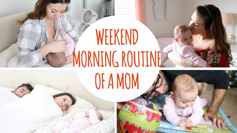 Morning Routine With A Baby Hayley Paige