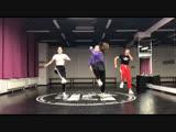 Dancehall зарисовка by Olya BamBitta for BEGGINERS