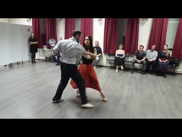 Александр Сухов и Нина Конская - Мир танго - танго нуэво - Malena