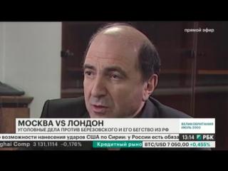 Беглый олигарх Березовский и бывший офицер ФСБ Литвиненко