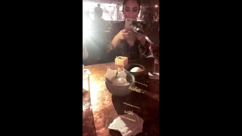 Shay Mitchell on Tracy Dawns Instagram Story (18 апреля 2018)