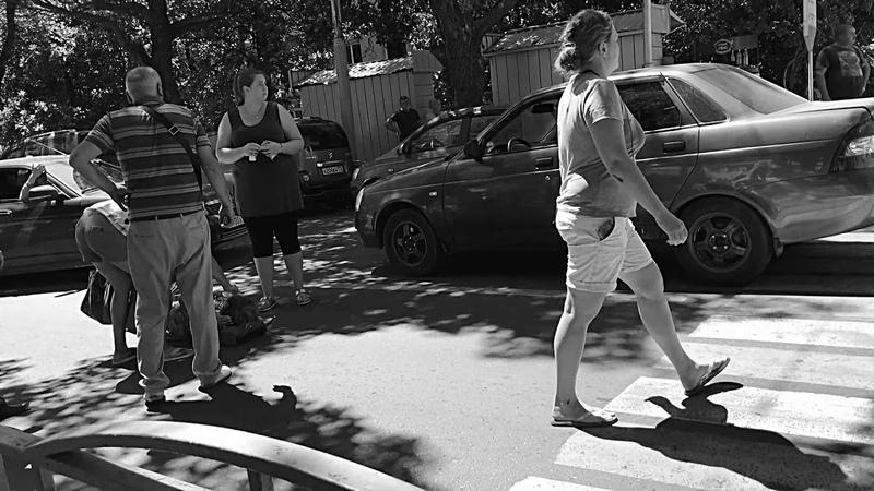 Лазаревское Сочи Пилот авто пешехода на зебре сбил смотреть онлайн без регистрации