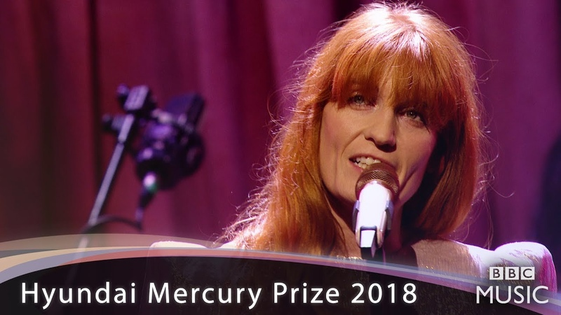 Florence The Machine Hunger Hyundai Mercury Prize 2018