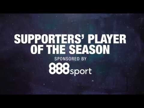 VOTE | Supporters' Player of the Season | Player Awards 2018
