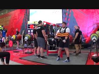 Богатырев Денис жим лежа софт Ультра 330 кг