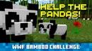 Сажайте Бамбук в Minecraft, Помогайте Пандам в Реальной Жизни