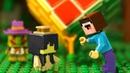 КУБИК НУБика и МОМО - Лего НУБик Майнкрафт Мультфильмы для Детей - LEGO Animation