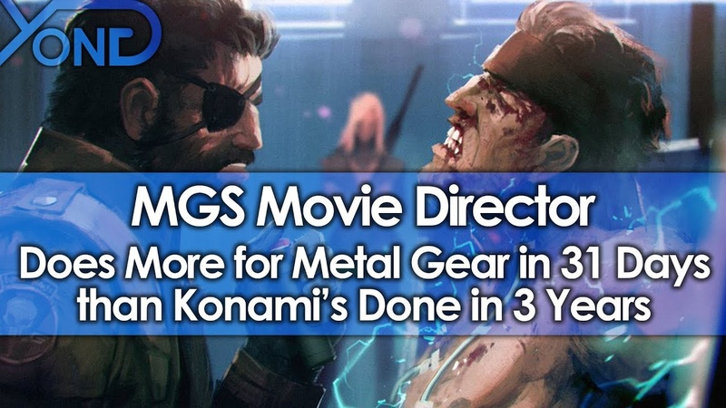 MGS Movie Director Does More for Metal Gear in 31 Days than Konami's Done in 3 Years