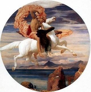 пегас пегас в древнегреческой мифологии — крылатый конь, любимец муз. рожден горгоной медузой от посейдона. выпрыгнул из туловища медузы, после того как персей отрубил ей голову. поскольку конь